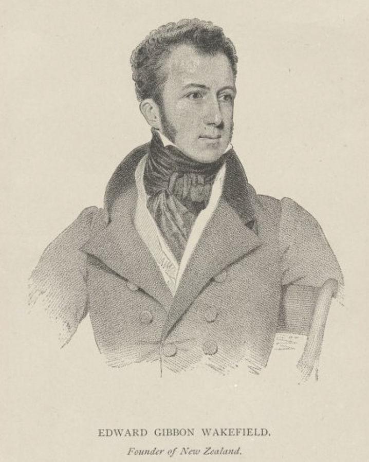 Edward Gibbon Wakefield by Benjamin Holl