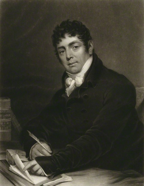 Sir Richard Birnie by William Say, published by and after James Green, mezzotint, published 1819