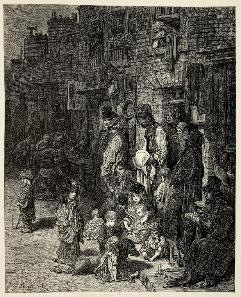slums illustrated by gustave dore