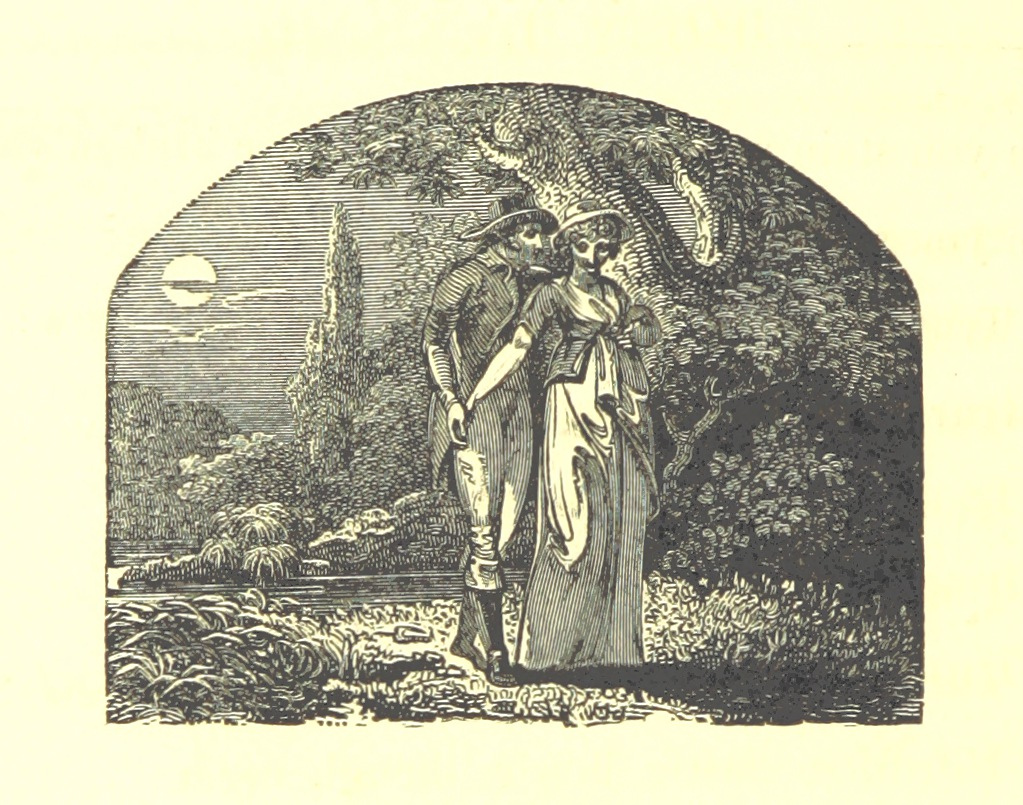courting couple 1802