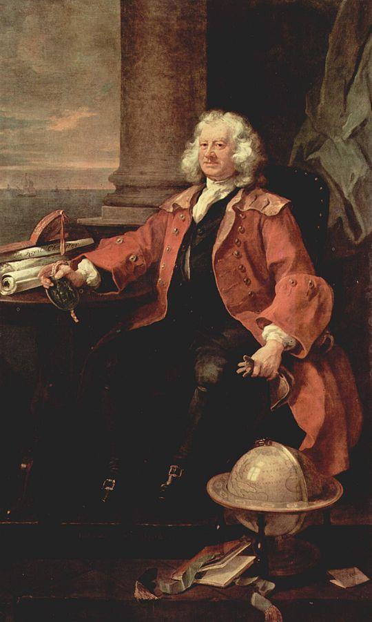 Thomas Coram, by William Hogarth
