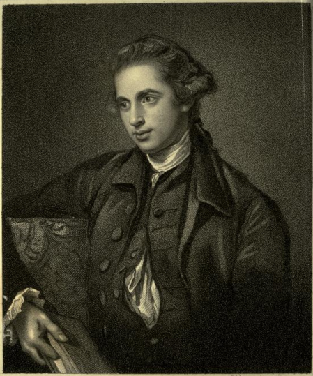 George Hardinge as a young man from Illustrations of the Literary History of the Eighteenth Century, Vol III, biography of Hardinge, makes no mention of Mary Morgan