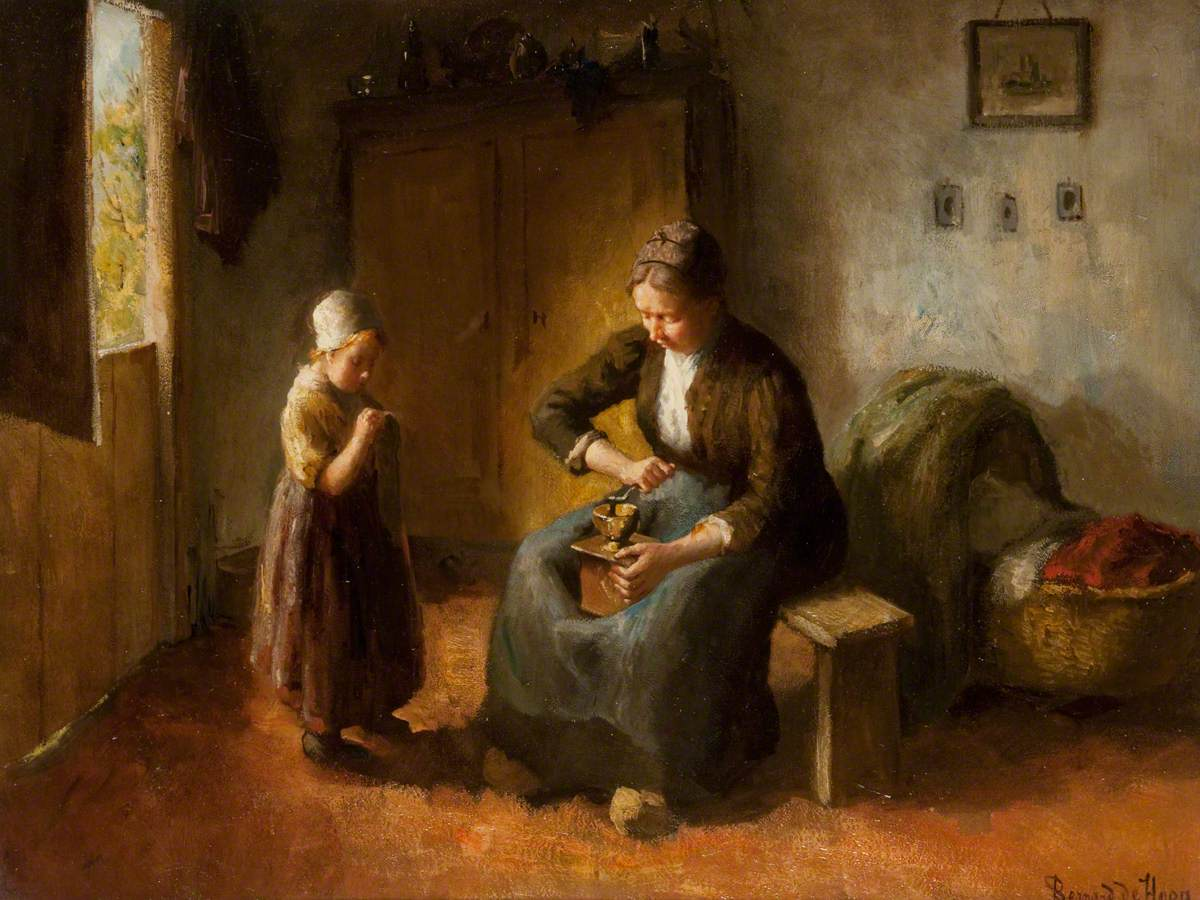 The Coffee Grinder Bernard de Hoog (1867–1943) McLean Museum and Art Gallery