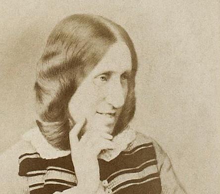 George Eliot (Mary Anne Evans, 1819-1880) c 1865.