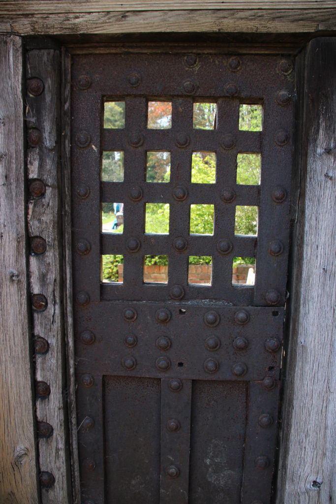 The Newgate door, now at Newby Hall