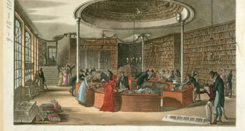 the bookshop of Lackington, Allen and Company, which traded in Finsbury Square. The premises boasted a frontage 140 feet long and the shop is believed to have sold around 100,000 copies each year during the 1790s.