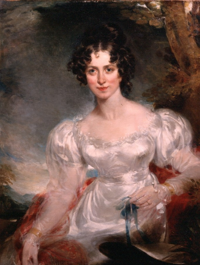 Portrait of Lady Charles Bentinck (née Wellesley) by Sir Thomas Lawrence c.1825. Philip Mould Historical Portraits.