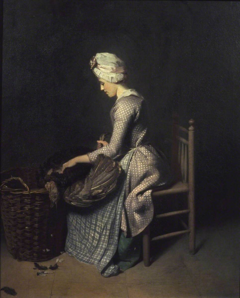 Walton, Henry; Plucking the Turkey; Tate; http://www.artuk.org/artworks/plucking-the-turkey-202689