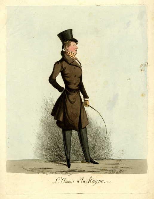Joseph 'Pea Green' Hayne. © Trustees of the British Museum