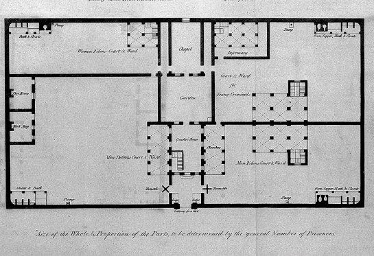 Some early 19th-century prison escapes