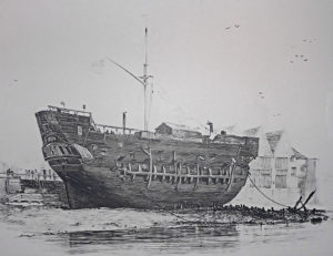 A voyage to nowhere: On board the Justitia prison hulk at Woolwich