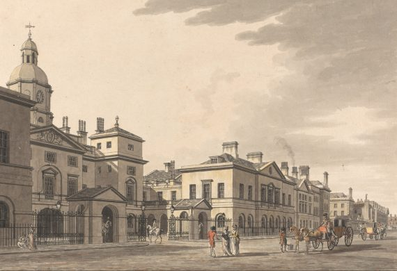 The buildings of Georgian Whitehall and Westminster: Horse Guards, Dover House