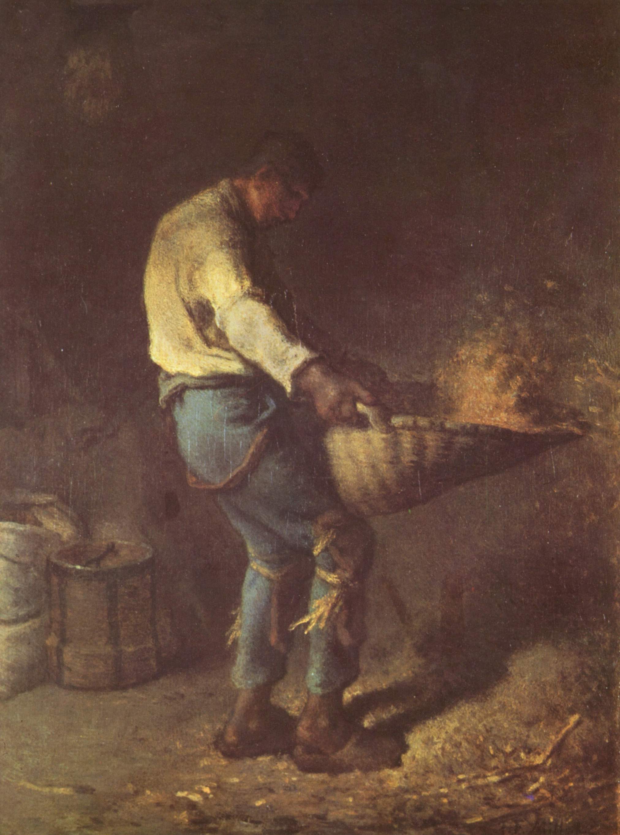 What happened during the Georgian harvest?
