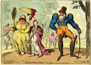 James Gillray's Monstrosities of 1799 – Kensington Gardens (Part 1)