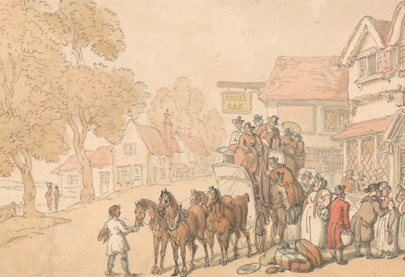 stage coach rowlandson