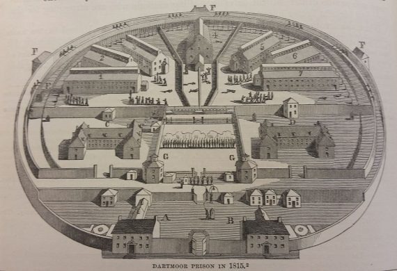 1815: The fate of US prisoners of war at Dartmoor Prison