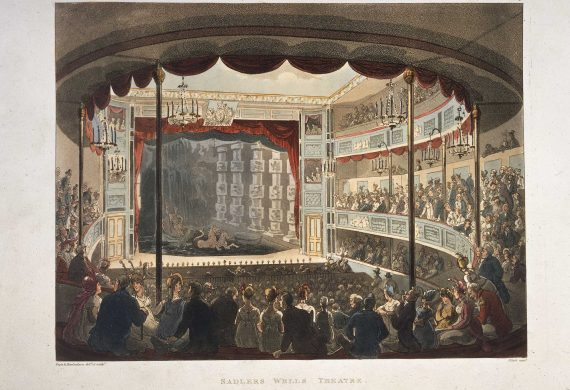 15 October 1815: A fake fight results in catastrophe at Sadler's Wells