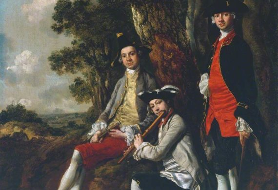 Thomas Gainsborough: two exhibitions and two murders