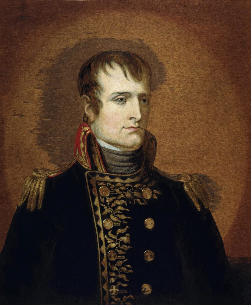 portrait of napoleon by mary linwood