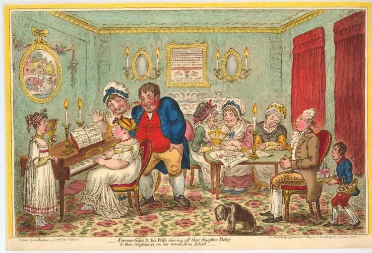 james gillray cartoon